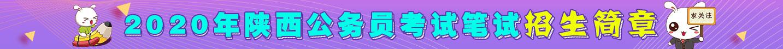 2020陝西(xi)公務員(yuan)考試yuan)適哉猩sheng)簡章