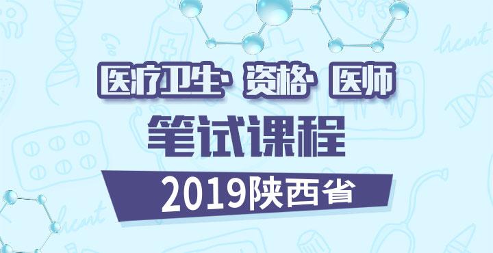 2018陕西医疗卫生/资格证/医师 课程