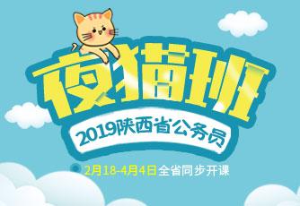2019陕西省公务员考试夜猫班课程